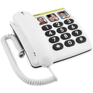 doro 331 casques tv téléphones amplifié malentendants centre auditif audition 56 saint avé vannes morbihan téléphone amplifiés fixes filaires sans répondeur